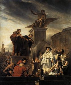 501px-Berchem,_Nicolaes_Pietersz__-_Paul_and_Barnabas_at_Lystra_-_1650